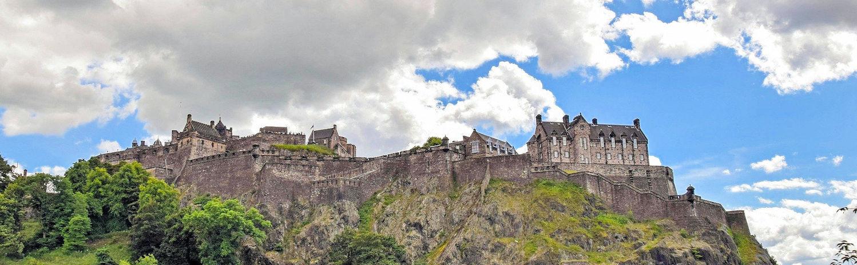 Halloween Castle Trail in Scotland - Edinburgh Castle