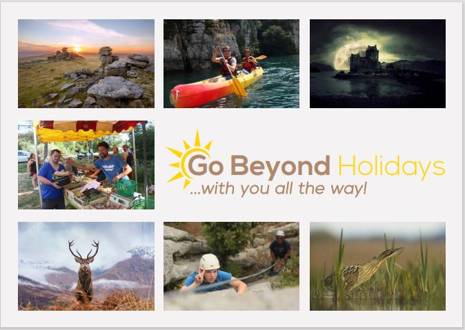 Go Beyond Holidays - 2021 brochure